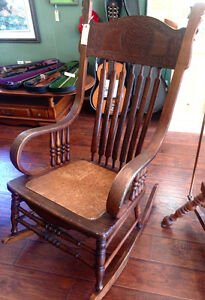 Antique Rocking Chair - Made In U.S.A. Kingston Kingston Area image 3