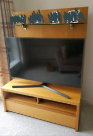 Fenwicks Solid Oak TV Unit