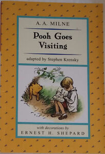 Pooh Goes Visiting Book (Ret's $6+)