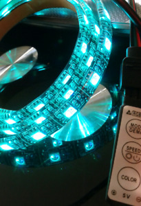 5 volt RGB LED light & USB