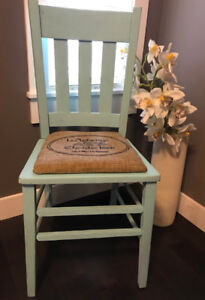 Rustic French Chair