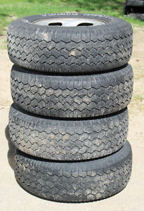 Trail Buster Radial APR P245/70R16 tires on toyota steel rims