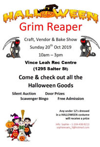 Grim Reaper Craft, Vendor & Bake Show