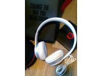 Beats audio solo 2 white