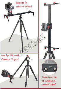 31.5Inch Camera Track Dolly Slider Rail Video Stabilizer 212068
