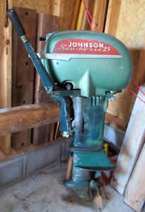 Johnson Outboard 25HP 1951