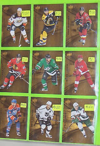Pure Gold Hockey Cards for Sale TIM HORTONS 2016/2017 Upper Deck Belleville Belleville Area image 2