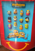 Minions Mcdonalds Toys! #1-#12 FULL SET