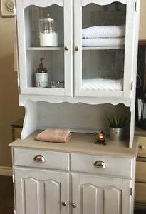 Annie Sloan Chalk Painted Hutch