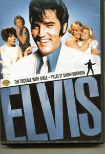 ELVIS * THE TROUBLE WITH GIRLS * DVD * NEW