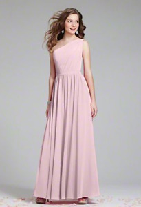 Alfred Angelo size 12 ballerina pink.