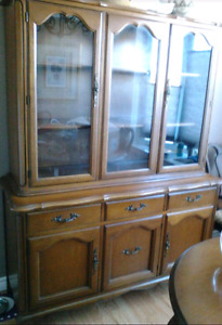 Beautiful Gibbard solid wood hutch