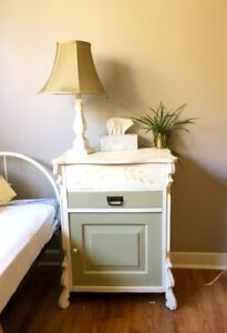 Lovely bedside table and cabinet