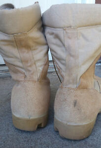 Men's Tan Combat Boots - Excellent Used Condition