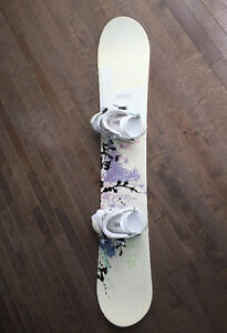 Morrow Snowboard & Firefly bindings - Planche à neige & fixation