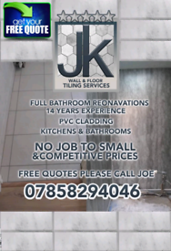 Jk wall & floor tiling