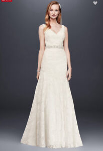 Lace Wedding Gown and Belt