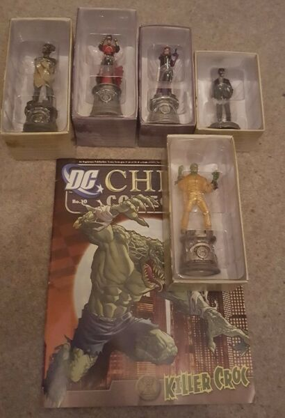 6 DC Chess Figurines