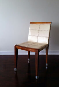 Wood & Leather Chairs