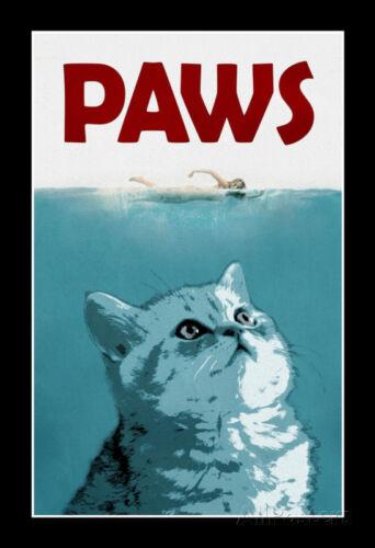 Paws Movie Animal Poster Print, 13x19