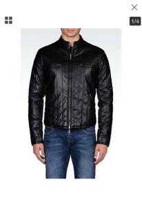 Men's Armani biker jacket. New without tags