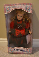 Limited Edition 1998 Sabrina Collection Porcelain Doll