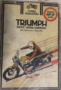 Triumph 1972 Motorcycle Manual