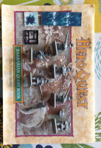 Hero Quest Barbarian Frozen Horror expansion pack parts