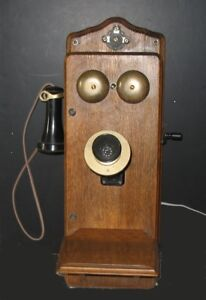 Antique Crank Wall Phone