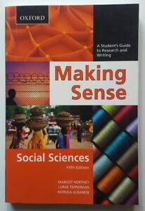 Making Sense Social Sciences