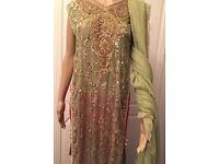 Asian/ indian/ Pakistani/ Bengali Party and wedding dress