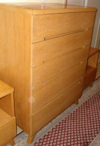 MCM Gibbard Dresser & side tables