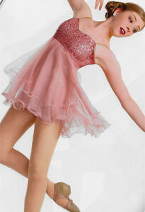 "NEW ""Flowing Grace"" Lyrical or Contemporary Dance Costume"