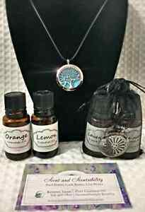 UNIQUE birthday or Christmas gift!Aromatherapy diffuser necklace Cambridge Kitchener Area image 1