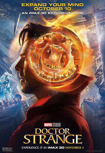 2 Tickets - DOCTOR STRANGE IMAX 3D Footage Event