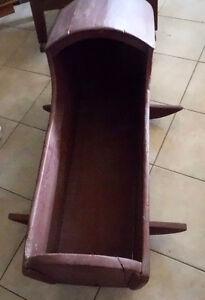 Antique Pine Cradle