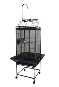 "20X20"" Play Top Bird Parrot Cage w/Toy Hanger Conure Cockatiel"