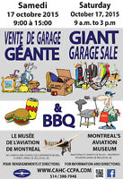 Vente de garage musée d'aviation Garage sale Aviation museum