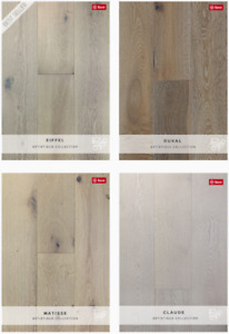 PRAVADA WHITE OAK ENGINEERED WOOD FLOORS - ARTISTIQUE COLLECTION