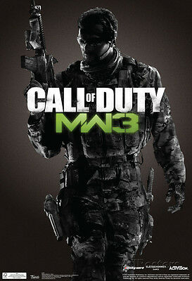 Call Of Duty Modern Warfare 3 Video Game Poster Poster Print  13X19
