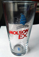Molson EXPORT Old Logo MOLSON EX LIBBEY Pint Glass Verre HTF 20 Longueuil / South Shore Greater Montréal Preview