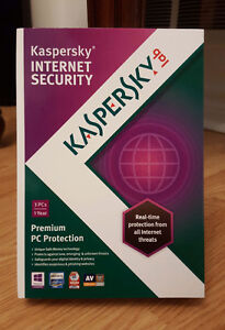 Kaspersky Internet Security ( 3 PCs 1 Year )