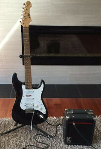 BRAND NEW S101 Electric Guitar with Amp