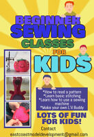 Beginner Sewing Classes for KIDS