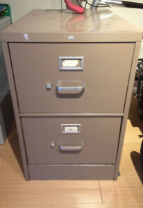 """Filing cabinet, two drawer, legal size (8.5""""x14"""")"""