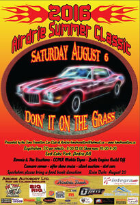 2016 Airdrie Summer Classic Charity Car Show