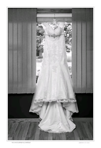 Off white Garbers Bridal gown