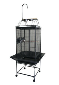 "20X20"" Play Top Bird Parrot Cage w/Toy Hanger Conure Cockatiel"