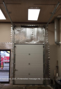 Overhead utility vehicle/ garage insulated door
