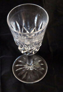 55+years old Waterford crystal stemware (Lismore)  and decanter
